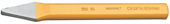 Cross cut chisel - 8702180