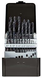 Twist drill bit set, rolled - 3301611