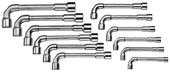 Double ended socket wrench set - 1527312
