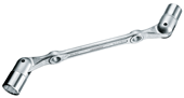 Swivel head wrench double ended - 6301520