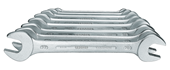 Double open ended spanner set - 6077380