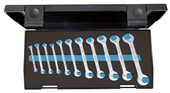 Double open ended spanner set - 1879146