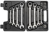 Reversible ratchet wrench set - 3300059