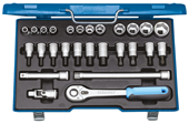 "Socket set 1/2"" - 6139750"