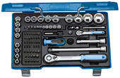"Socket set 1/4""+1/2"" - 1550691"