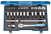 "Socket set  1/2"" - 6140090"