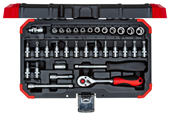 "Socket set  1/4"" - 3300051"