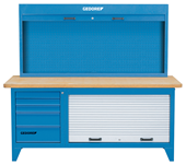 Workbench with tool cabinet - 6618210