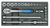 "Socket set 3/8"" - 6626070"