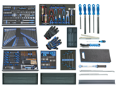 S 2005 AUTO - GEDORE - Tool assortment AUTO 6xmodule +separate 257pcs - 2055066