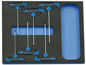 Screwdriver-set in 2/4 Check-Tool-Module - 2016559