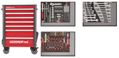 Tool trolley WINGMAN with 7 drawers R20200007 + tool set R21010004 - 3301694