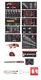 Workshop trolley MECHANIC with 6 drawers R20152006 + set R21010002 - 3300013 (2) (Thumbnail)