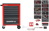 Workshop trolley MECHANIC red with tool set - 3301668
