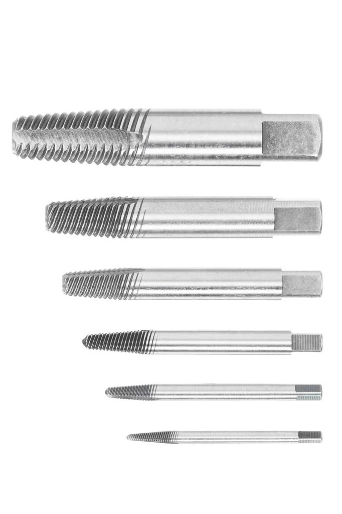 Gedore 8551 S-005 5 Piece Screw Extractor Set M3-M8